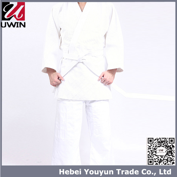Girls White Judo Unifrom/Ladies Judo Uniform/Judo Uniform For Women