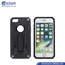 Hot selling irregular back cover design kickstand phone case for iPhone 5s case