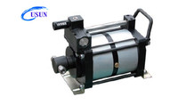 Widely used USUN Model:UG255-2 4080 Bar Output Ultra High pressure air-driven water pump for pipe testing