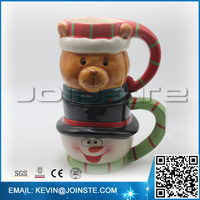 3d Christmas mug,bulk christmas mugs,christmas mugs for kids