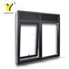 accordion window / USA Market window manufacturers in china house double glazed windows for sale