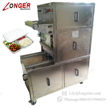 Manufacturer Automatic Gas Used Plastic Film Tofu Sandwich Fruit Lunch Box Meal Map Fast Food Trays Sealing Machine Tray Sealer