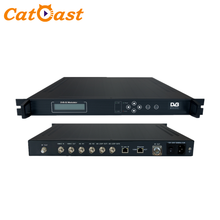 Asi to RF Qpsk/8psk DVB-s/S2 Modulator Support digital wireless and satellite broadcasting