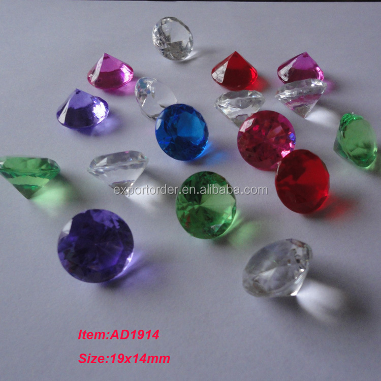 acrylic diamond for party decoration