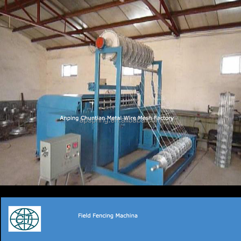 hot sale cheap price field fence machine