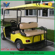 Mini golf cart club car 4 seater suitable price comfortable electric golf car