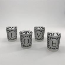 Personalized cement scented candles for home decoration with high quality