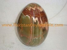 DECORATIVE ONYX EGGS HANDICRAFTS