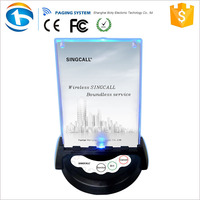 Restaurant Number Electronic Servant Call Bell Pager System