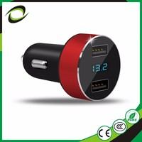 Inexpensive Products 2.4A ABS+PC car cigarette lighter socket adapter