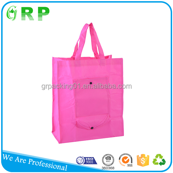 Promotional shopping handled tote printed custom made shopping bags