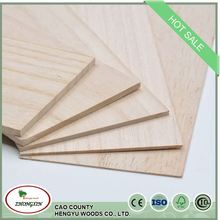 Low Price shelves factory price china solid paulownia wood flower board