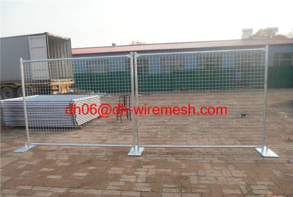 Temporary Fence Galvanzied Welded wire mesh Temp Fencing Easy install fence