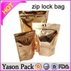 Yason ziplock bags for parts reusable food spout pouch for kids with doubt ziplock zipper sealing medical bag