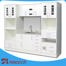 Customized large size AM-19 dental cabinet/dental furniture with drawers for hospital clinic laboratory