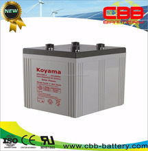 Top selling long life 1500Ah deep cycle 2V Solar Gel Battery for solar systems