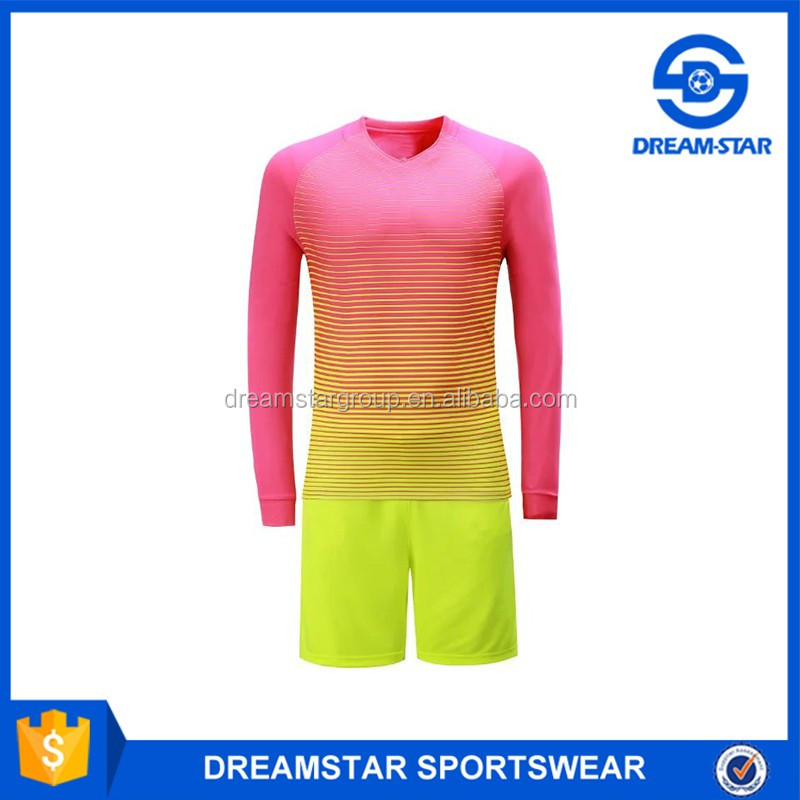 2017-18 Wholesale Orange Soccer Jerseys,Long Sleeve Kit