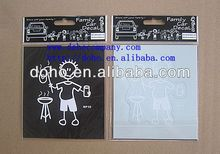 New model Faces Family Car Stickers Sheet -- DH 11918