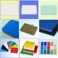Facades decoration for indoor walls plastics composite material ACP ACM Aluminium composite panel
