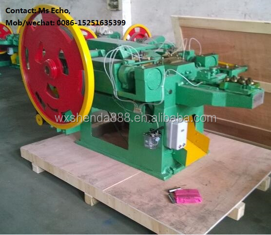Wuxi Maker Automatic Wood Pallet Coil Nail Making Machine for Steel Nails