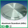 High Polished Aluminum Scandium Sputtering Target for ITO Indium Tin Oxides