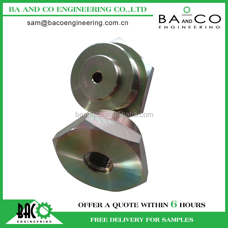 cnc machining auto spare stainless steel parts