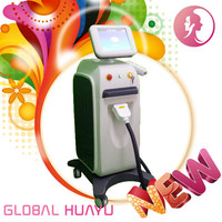 High Quality Leg physic therapi equip vertical 808nm diode laser hair removal machine on sale GHY