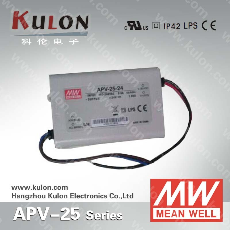 Meanwell 25w 36v Ul approved constant voltage mode led power supply