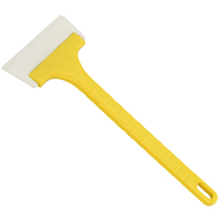 promotion Handle Clear Plastic Blade Car Cleaning Ice Snow Scraper Deluxe shovel Snowbrush Ice Scraper Mitts