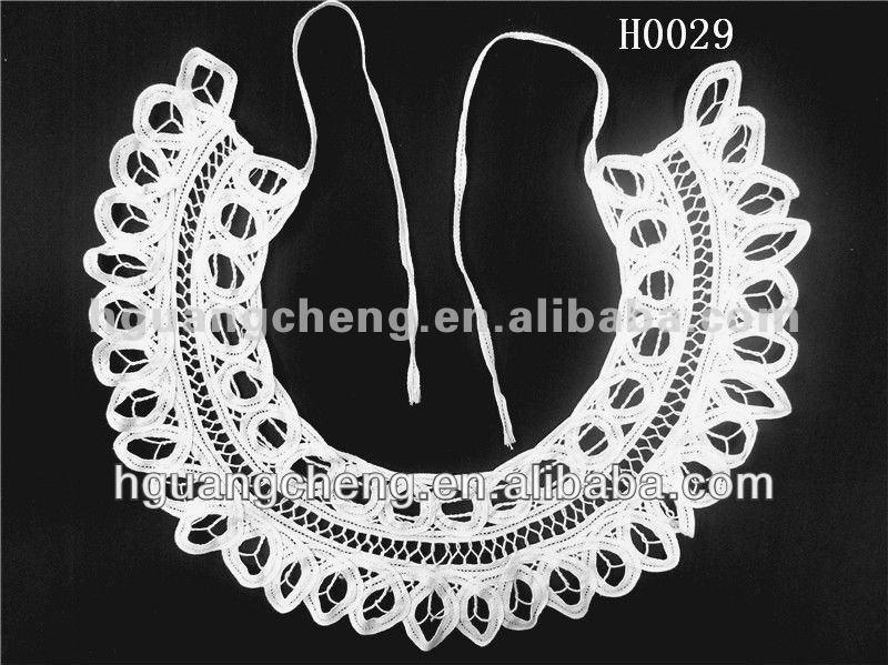 latest suit neck designs COTTON CROCHET COLLAR