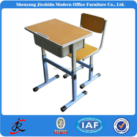 China OEM manufacturer School Desk And Chair For School Furniture