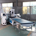 auto feeding panel furniture produce line