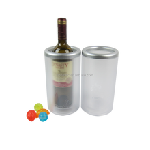 Chinese Suppliers Plastic Double Walled Plastic Ice Wine champagne Cooler