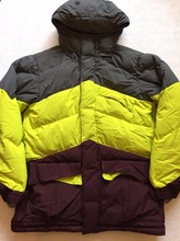 Guangzhou factory OEM service Winter outside warm hood down feather colorful men ski coat