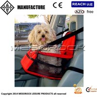 Folding Car Pet Protective Hammock Car Dog Booster Seat Cover Bag Crate Storage Pocket
