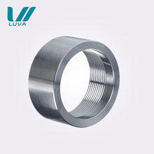 Round female and male threaded stainless steel pipe fittings coupling
