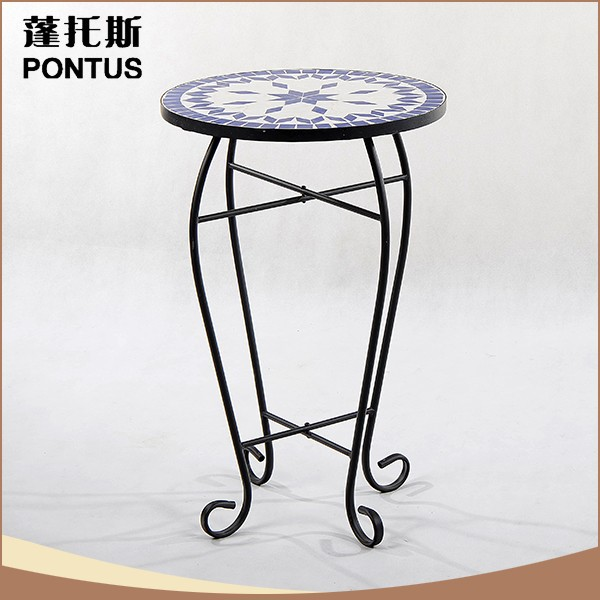 Fashionable design home decoration antique imitation plant holder arts crafts metal craft