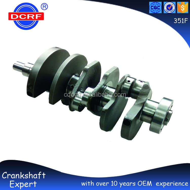 Factory Custom Forged Billet Barra Crankshaft for Fords