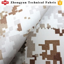 military camouflage teflon fabric for waterproof outdoor jackets