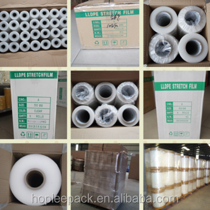 Pallet stretch film plastic hand stretch folie