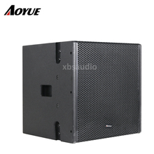 stage audio system 12 inch subwoofer Active line array speaker for performance
