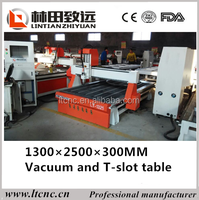 Professional high precision & easy operation Jinan BEST PRICE LT-1325(1300*2500*200mm) haas cnc router