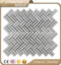 Cheap Herringbone shape wood mosaic tile With Trade Assurance