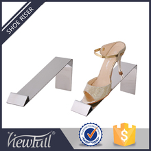 Concise design metal folding shoe display rack