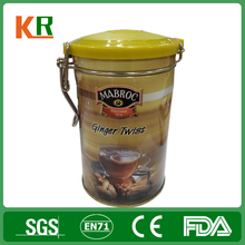Hot sale tea box with plastic lid