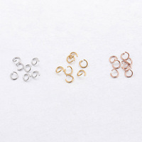 1000pcs/bag Stainless Steel Connector 3 Colors DIY Jewelry Findings Wholesales 0.5*3.5mm Jump Ring