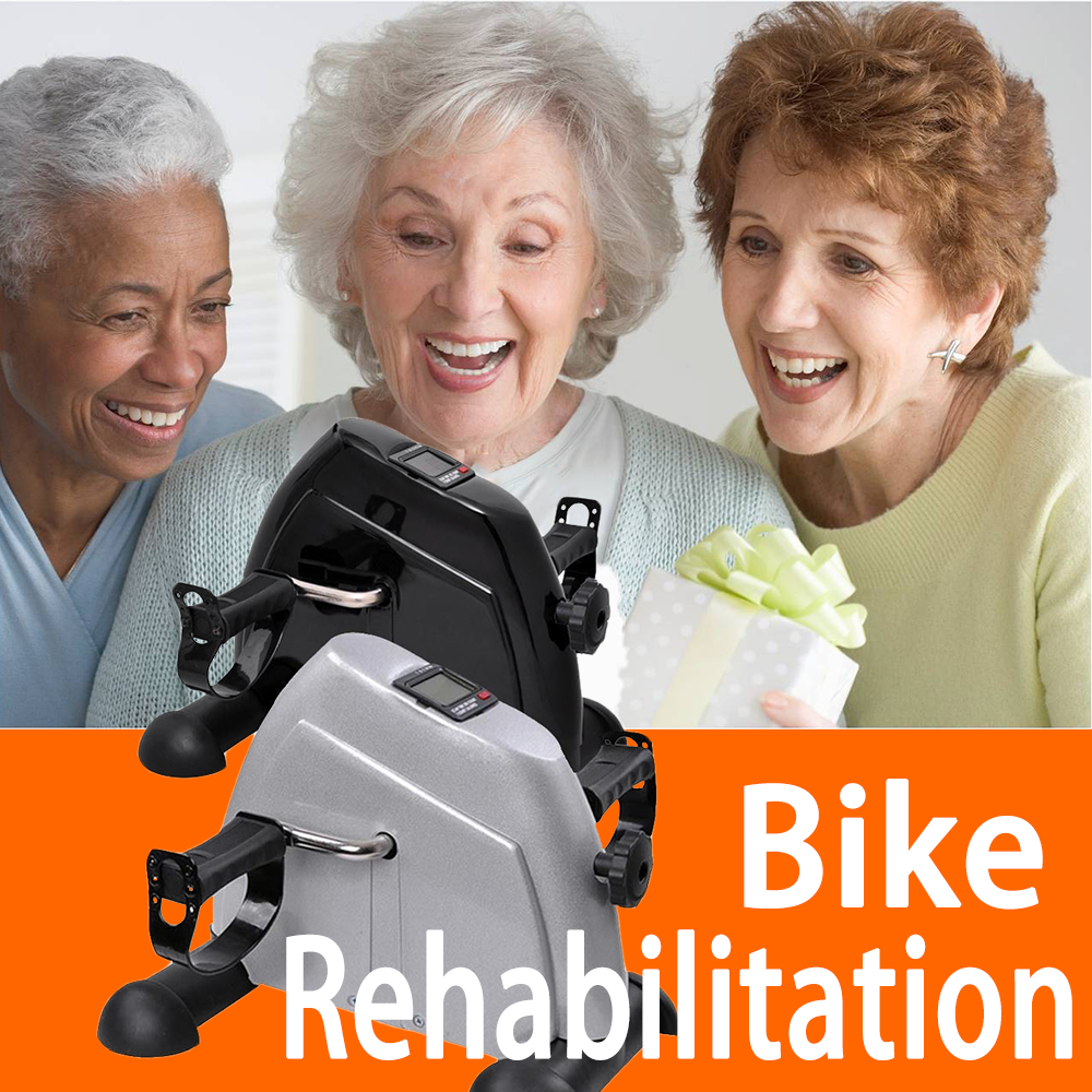 HYE-20171 Elderly Mini Exercise Bike Trainer Indoor Rehabilitation Bike
