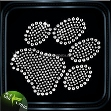 paw of tigers hot fix rhinestone motif