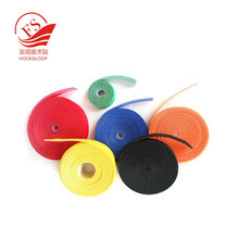 100% nylon adhesive hook and loop iron on cloth