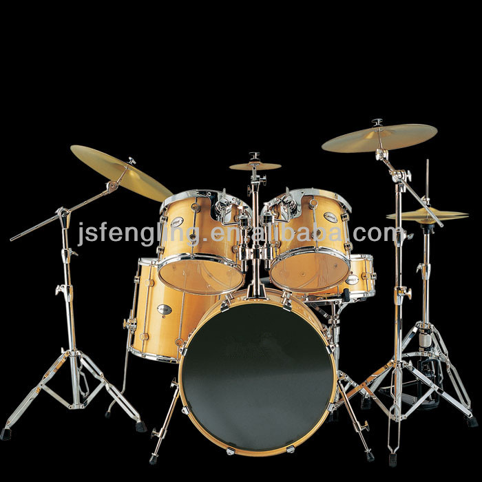 professional PVC 5-PCS Jazz Drum Set for stage